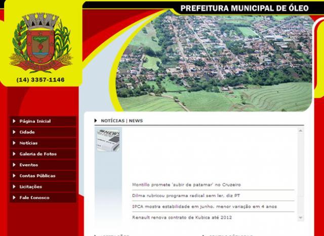 Prefeitura Municipal de Óleo
