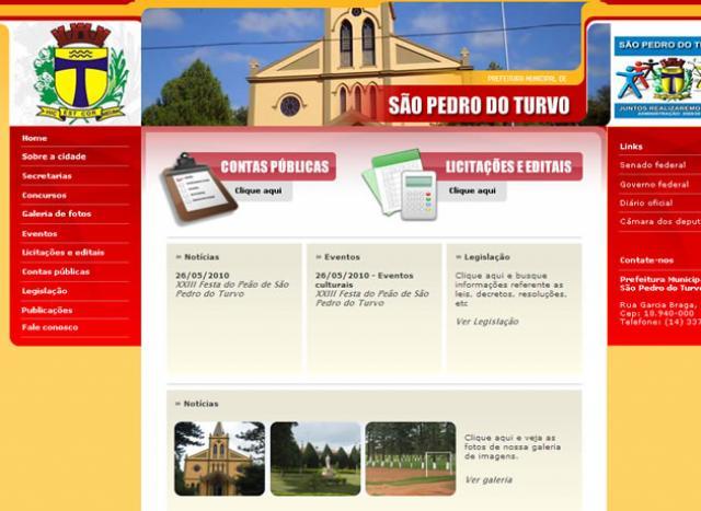 Prefeitura Municipal de São Pedro do Turvo