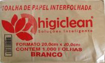 Branco 20,0cm x 21,0cm higiclean